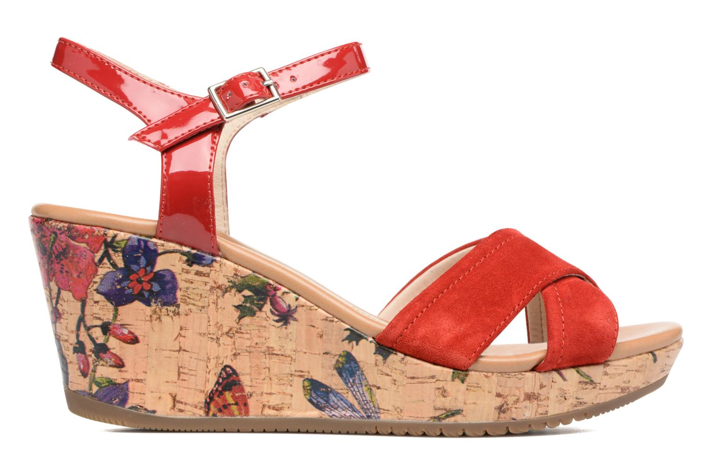 Sandales et nu-pieds Stonefly Marlene II Rouge vue derrière