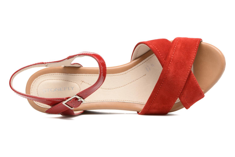 Sandales et nu-pieds Stonefly Marlene II Rouge vue gauche