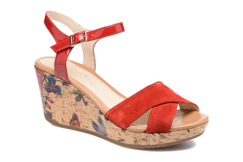 Sandales et nu-pieds Stonefly Marlene II Rouge vue détail/paire