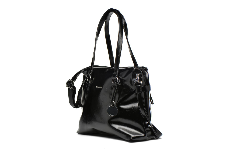 Sacs à main Tamaris Neve Business bag Noir vue portées chaussures