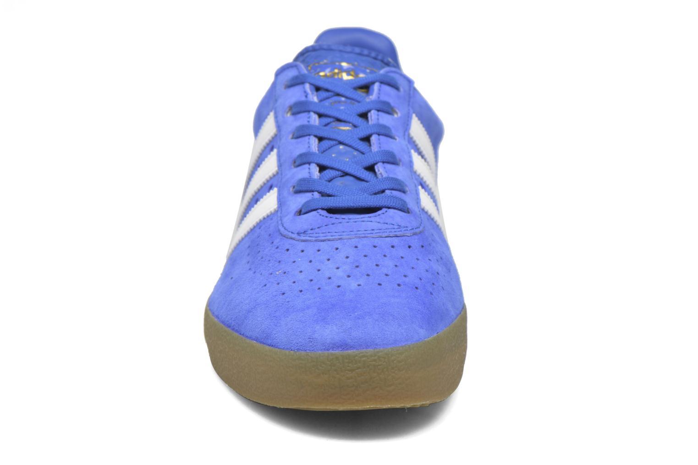 Baskets Adidas Originals Adidas 350 Bleu vue portées chaussures