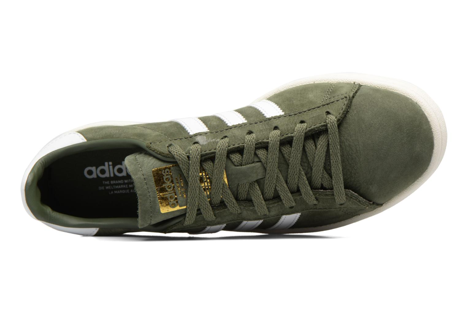 Baskets Adidas Originals Campus W Vert vue gauche