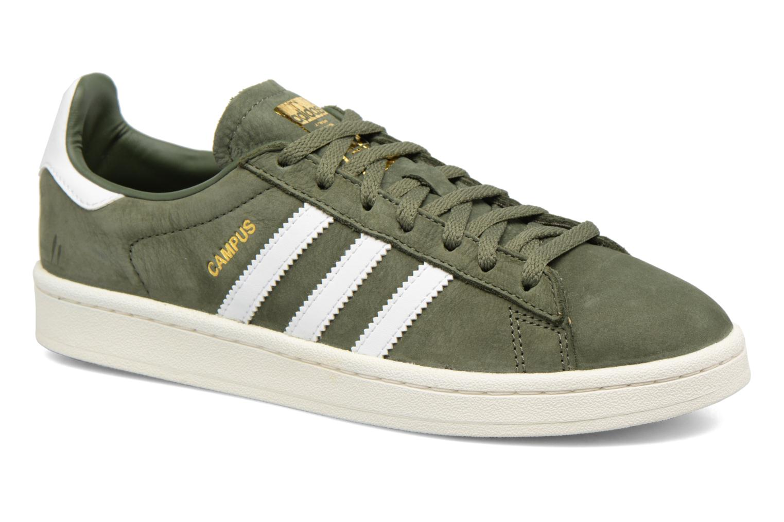 Baskets Adidas Originals Campus W Vert vue détail/paire