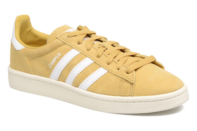 Sneakers Adidas Originals Campus W Gul detaljeret billede af skoene