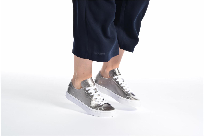 Sneakers Adidas Originals Courtvantage W Grigio immagine dal basso