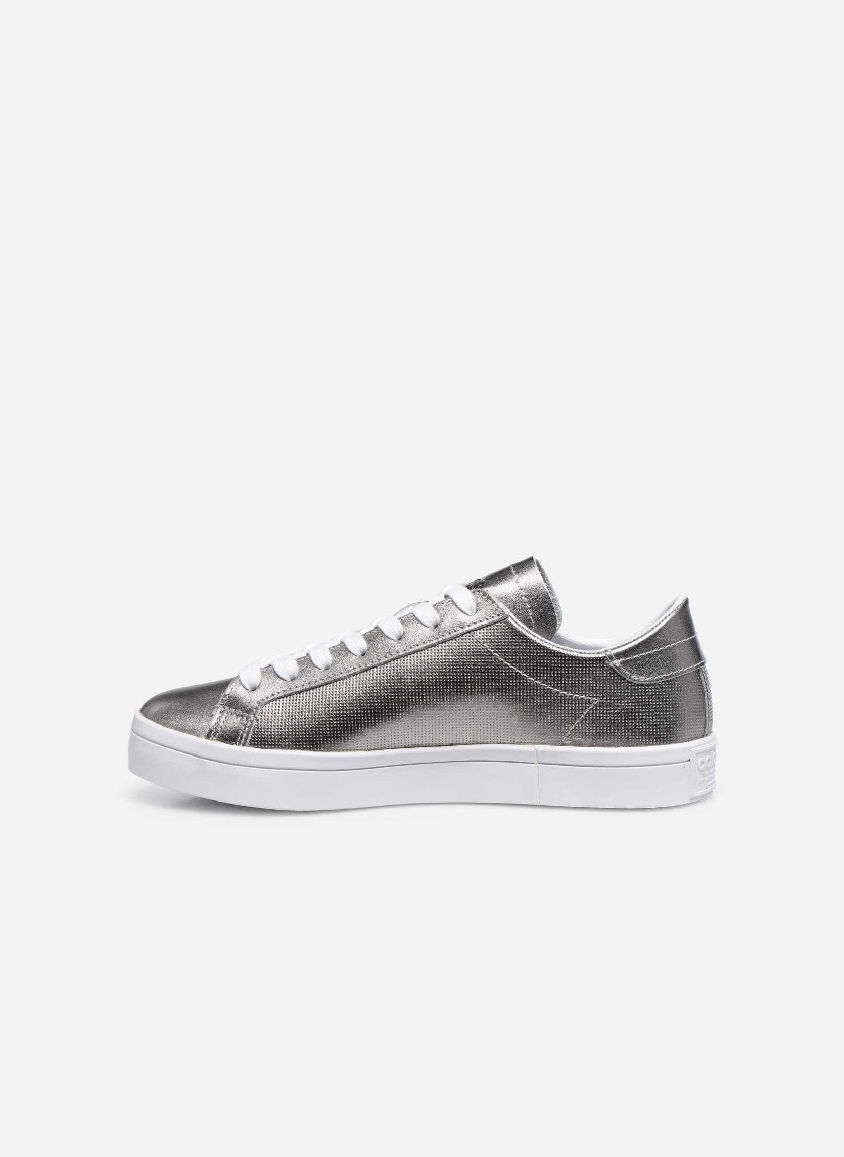 Sneakers Adidas Originals Courtvantage W Grigio immagine frontale