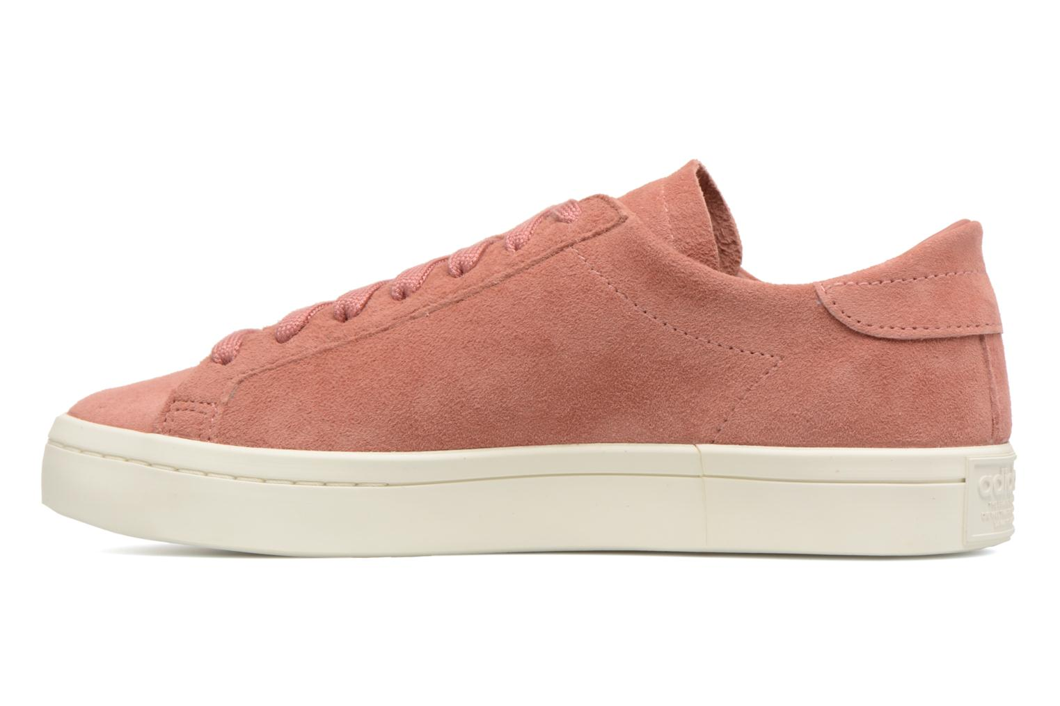 Sneakers Adidas Originals Courtvantage W Pink se forfra