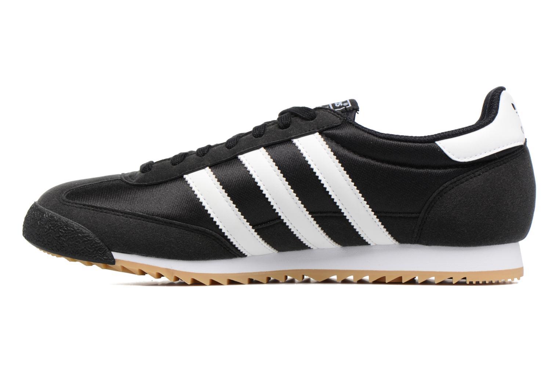 Sneaker Adidas Originals Dragon Og schwarz ansicht von vorne