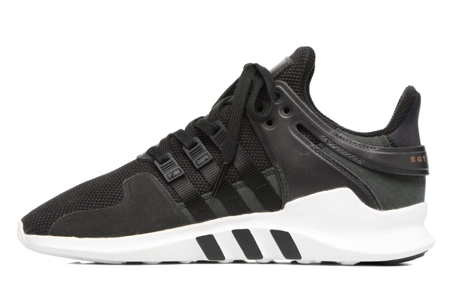 Baskets Adidas Originals Eqt Support Adv Noir vue face