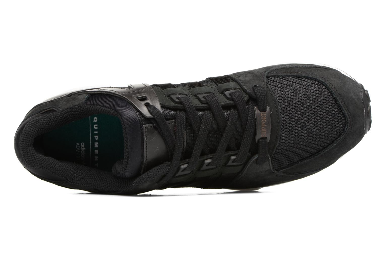Baskets Adidas Originals Eqt Support Rf Noir vue gauche