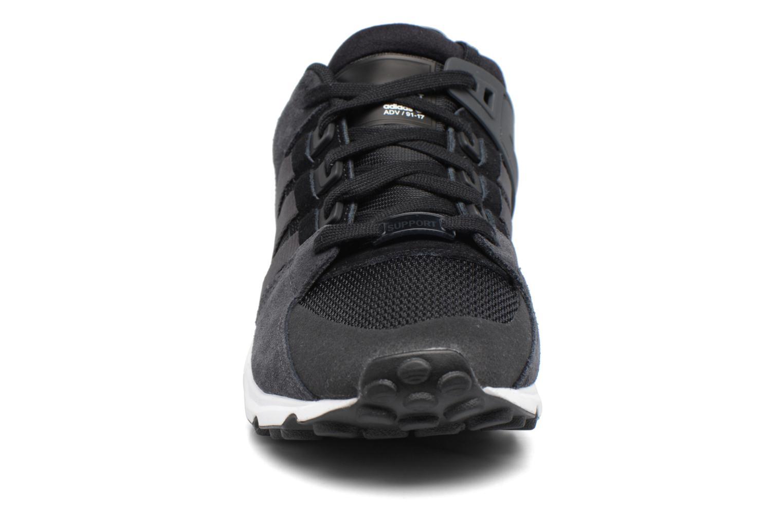 Baskets Adidas Originals Eqt Support Rf Noir vue portées chaussures