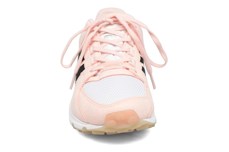 Baskets Adidas Originals Eqt Support Rf W Rose vue portées chaussures