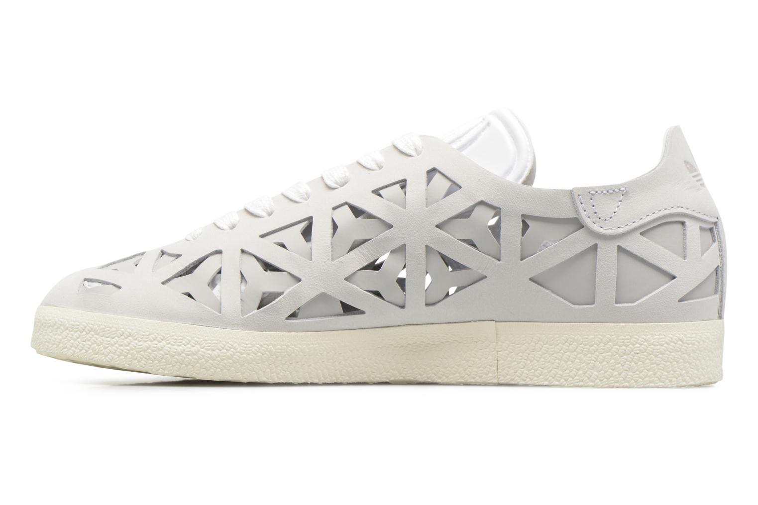 Baskets Adidas Originals Gazelle Cutout W Gris vue face