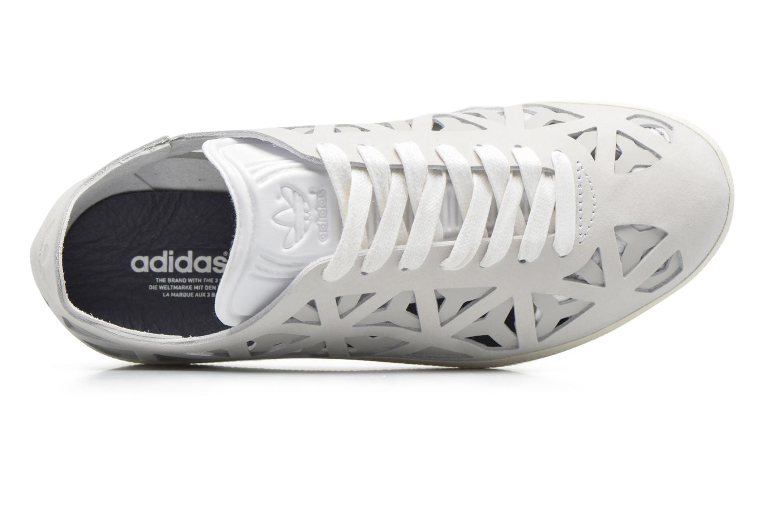 Baskets Adidas Originals Gazelle Cutout W Gris vue gauche