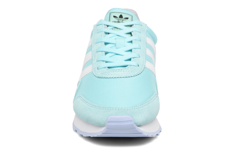 Baskets Adidas Originals Haven W Bleu vue portées chaussures