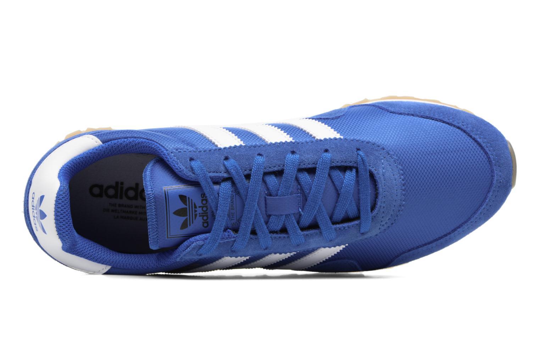 Baskets Adidas Originals Haven Bleu vue gauche