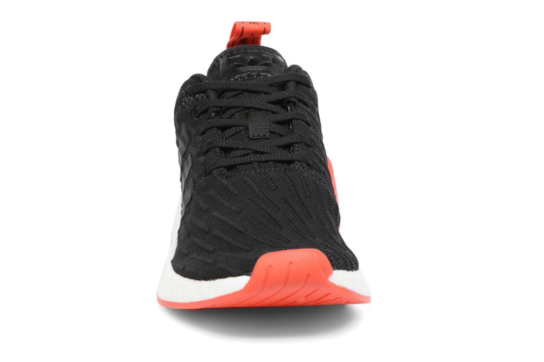 Sneaker Adidas Originals Nmd_R2 Pk schwarz schuhe getragen