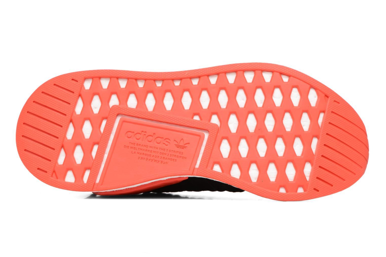 Baskets Adidas Originals Nmd_R2 Pk Noir vue haut