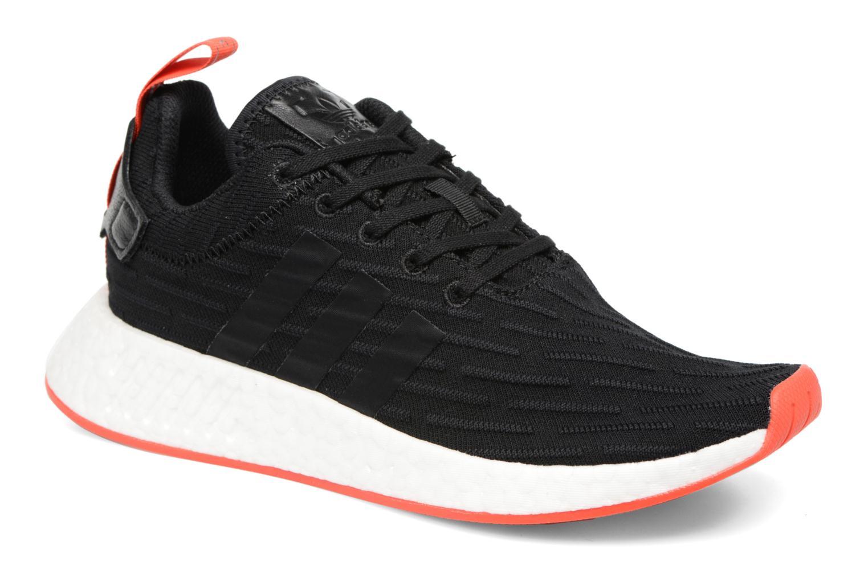 Trainers Adidas Originals Nmd_R2 Pk Black detailed view/ Pair view