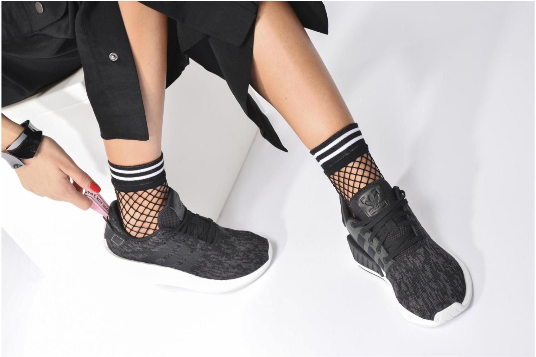 Baskets Adidas Originals Nmd_R2 W Rose vue bas / vue portée sac
