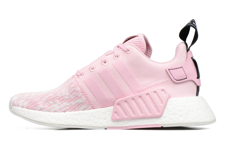 Baskets Adidas Originals Nmd_R2 W Rose vue face