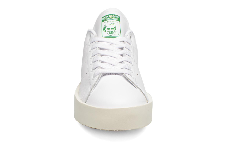 Baskets Adidas Originals Stan Smith Bold W Blanc vue portées chaussures