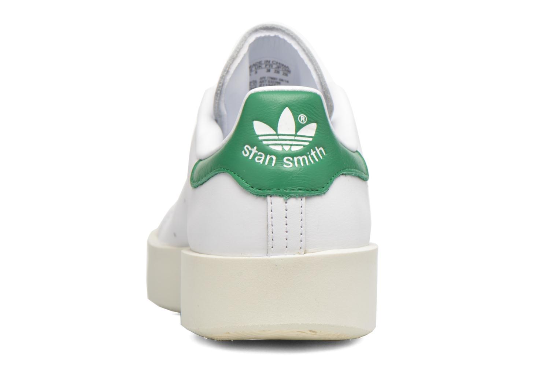 Baskets Adidas Originals Stan Smith Bold W Blanc vue droite