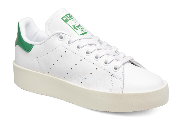 Baskets Adidas Originals Stan Smith Bold W Blanc vue détail/paire