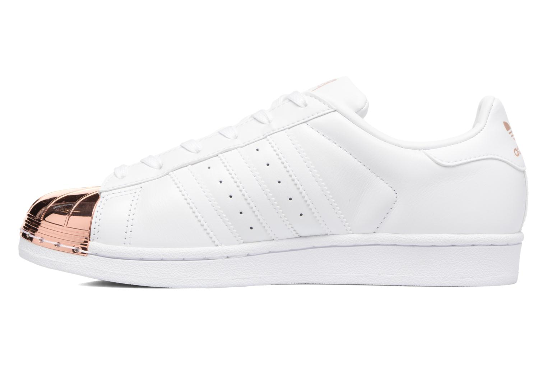 Sneaker Adidas Originals Superstar Metal Toe W weiß ansicht von vorne