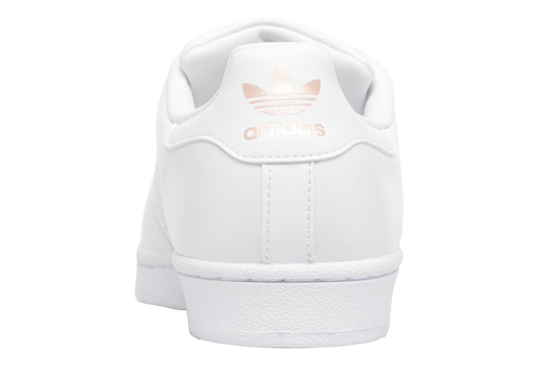 Sneaker Adidas Originals Superstar Metal Toe W weiß ansicht von rechts