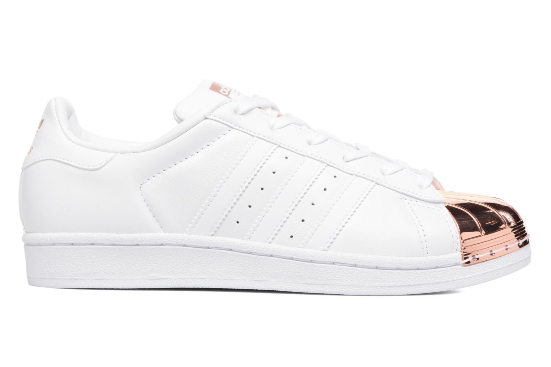 Sneaker Adidas Originals Superstar Metal Toe W weiß ansicht von hinten