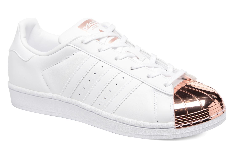 Sneaker Adidas Originals Superstar Metal Toe W weiß detaillierte ansicht/modell