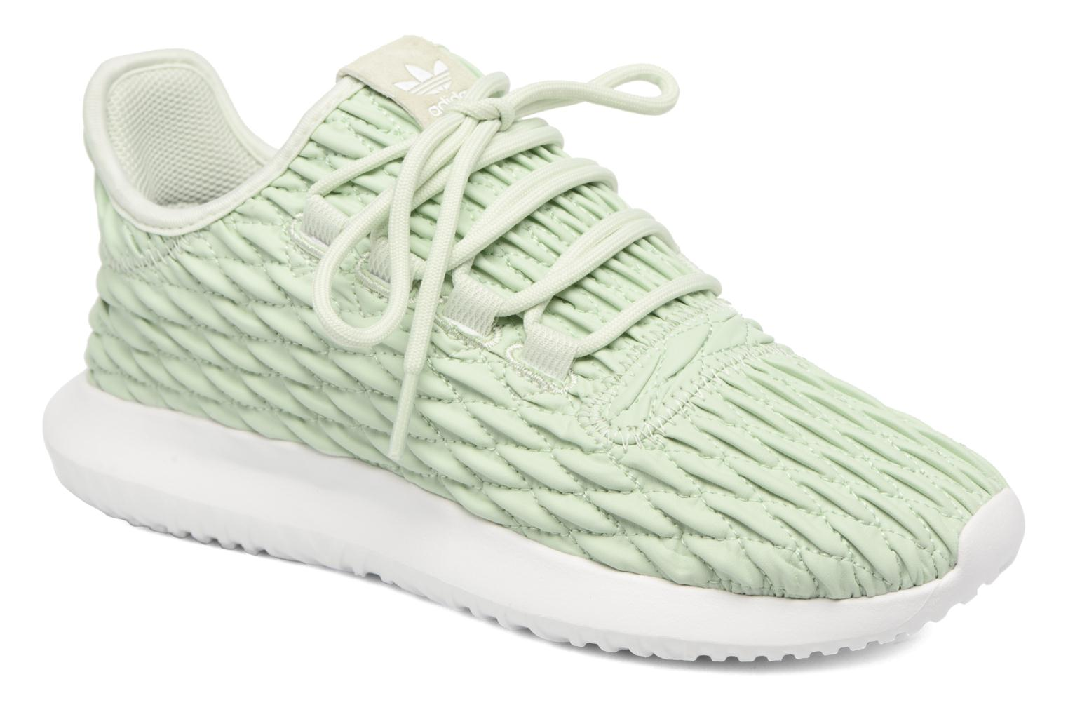 Baskets Adidas Originals Tubular Shadow W Vert vue détail/paire