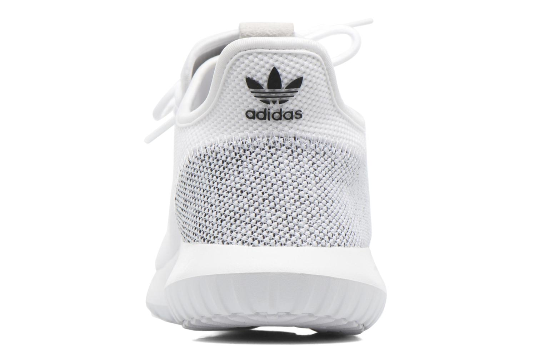 Baskets Adidas Originals Tubular Shadow Knit Blanc vue droite