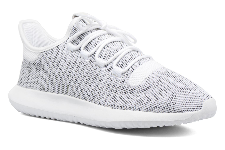 Baskets Adidas Originals Tubular Shadow Knit Blanc vue détail/paire