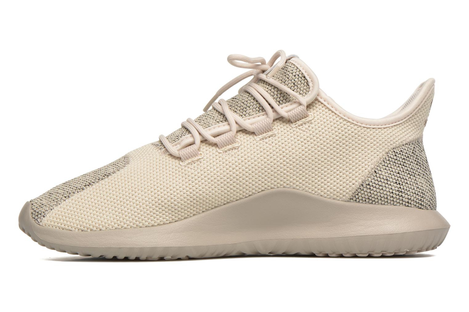 Baskets Adidas Originals Tubular Shadow Knit Beige vue face