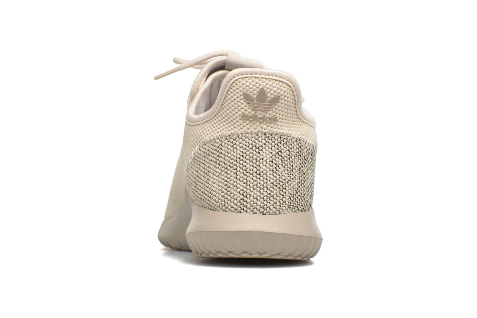 Baskets Adidas Originals Tubular Shadow Knit Beige vue droite