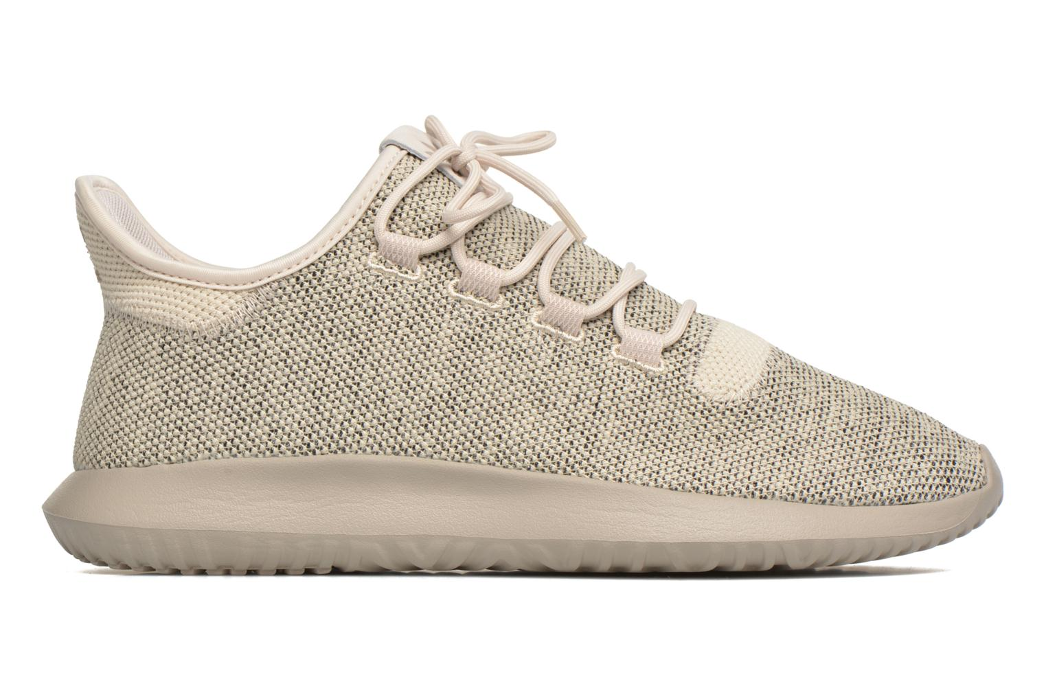 Baskets Adidas Originals Tubular Shadow Knit Beige vue derrière