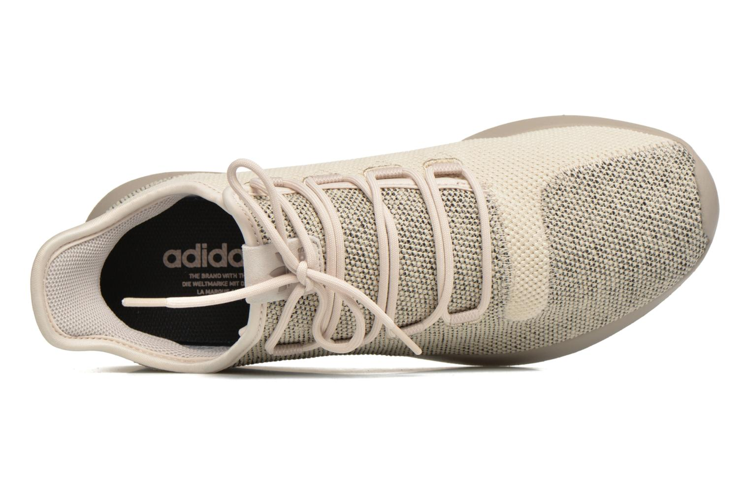 Baskets Adidas Originals Tubular Shadow Knit Beige vue gauche