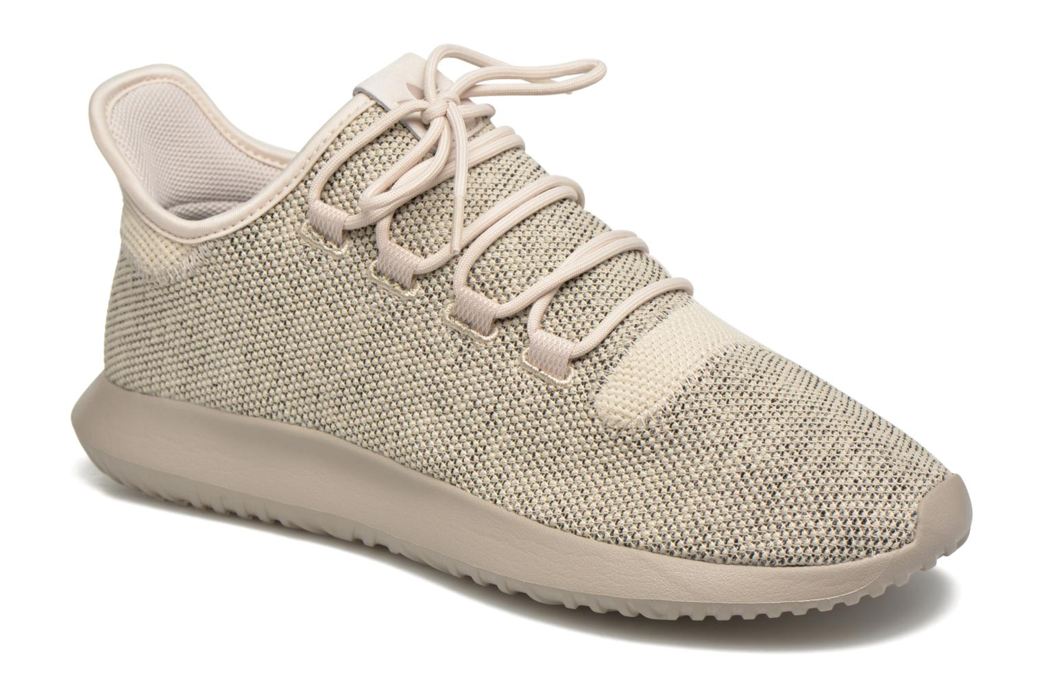 Baskets Adidas Originals Tubular Shadow Knit Beige vue détail/paire
