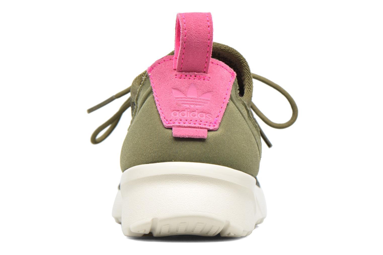 Sneakers Adidas Originals Zx Flux Adv Virtue Sock W Grå Se fra højre