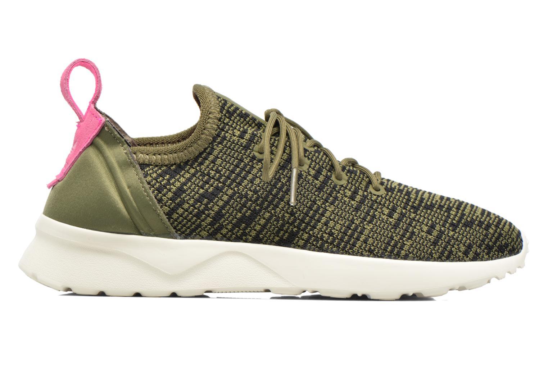 Sneakers Adidas Originals Zx Flux Adv Virtue Sock W Grå se bagfra