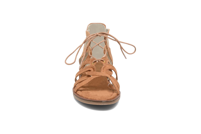 Sandales et nu-pieds I Love Shoes SUMINIGLI Marron vue portées chaussures