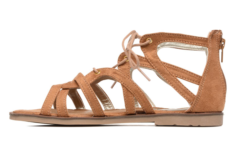 Sandalen I Love Shoes SUMINIGLI Bruin voorkant