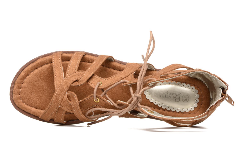 Sandali e scarpe aperte I Love Shoes SUMINIGLI Marrone immagine sinistra