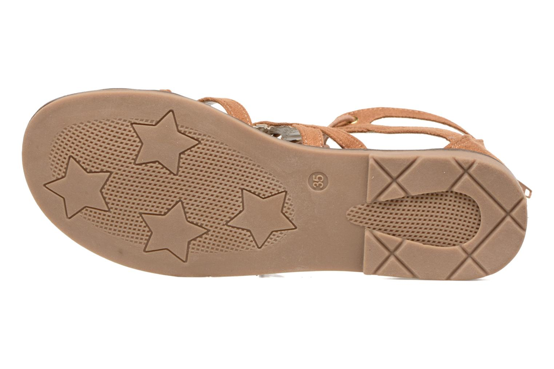 Sandales et nu-pieds I Love Shoes SUMINIGLI Marron vue haut