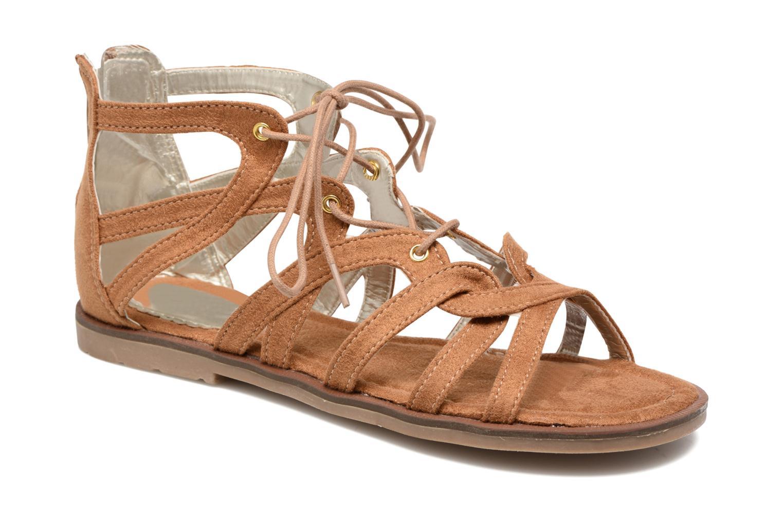 Sandales et nu-pieds I Love Shoes SUMINIGLI Marron vue détail/paire
