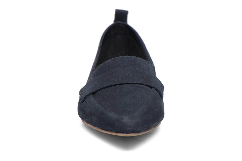 Ballerines Aldo CHERRYHILL Bleu vue portées chaussures