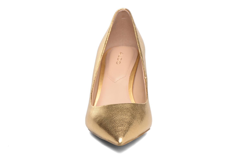 Escarpins Aldo HARLY Or et bronze vue portées chaussures