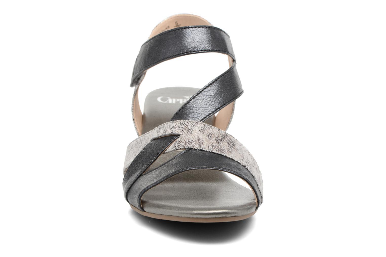 Sandales et nu-pieds Caprice Arielle 2 Gris vue portées chaussures